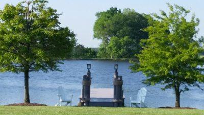 Entrance to Lake