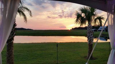 Sunset Lake Tent