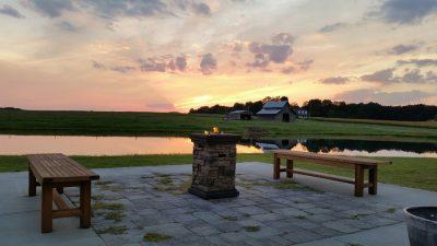 Sunset patio